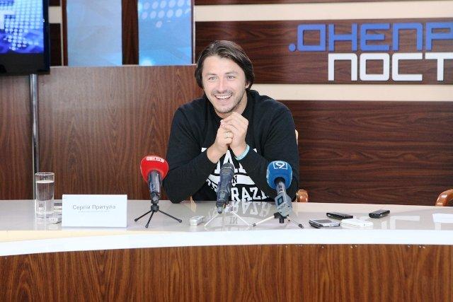 Сергій Притула: «З голими руками» на Дніпро не підеш»