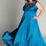 vestidos de fiesta para gorditas azul (5)