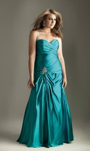 vestidos de fiesta para gorditas verde (3)