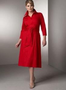 vestidos de fiesta para gorditas rojos (8)