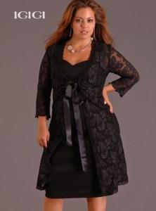 cómo reutilizar vestidos de fiesta para gorditas (12)
