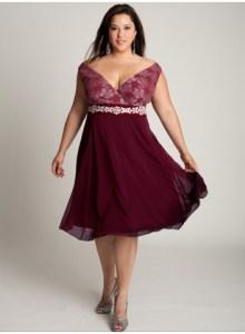 detalles de vestidos de fiesta para gorditas (6)