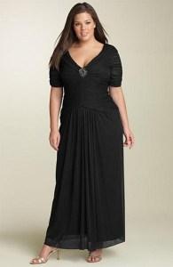 vestidos de fiesta sencillos para gorditas (2)