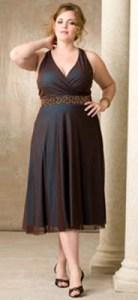 vestidos de fiesta para gorditas de corte imperio (10)