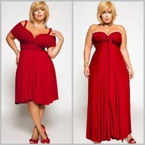 Vestidos rojos para gorditas (2)