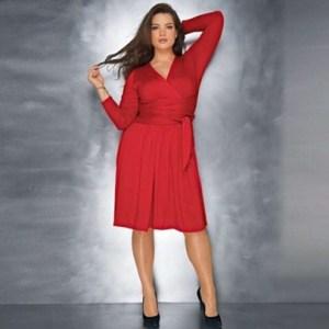 Vestidos rojos para gorditas (6)