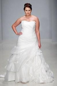 Hermosos vestidos de novia para gorditas  (17)