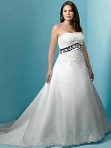 Hermosos vestidos para novias gorditas (13)