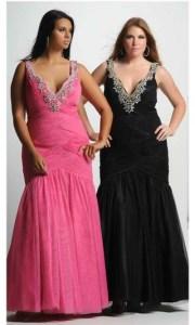 Opciones de vestidos de fiesta para gorditas (7)