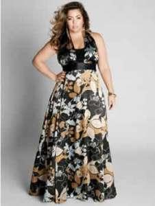15 opciones de hermosos vestidos de fiesta para gorditas estampados (1)