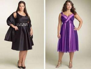15 opciones de hermosos y sencillos vestidos de fiesta para gorditas  (10)