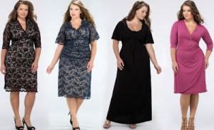 15 opciones de hermosos y sencillos vestidos de fiesta para gorditas  (5)