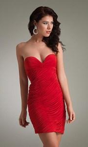 15 opciones de vestidos de fiesta para gorditas cortos para Navidad (7)