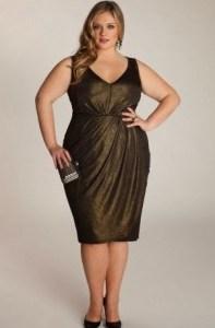 15 opciones de vestidos de fiesta para gorditas largos para Navidad (3)