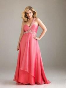 15 opciones de vestidos de fiesta para gorditas largos para año nuevo (9)