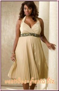 12 Hermosos vestidos de terciopelo para gorditas (5)