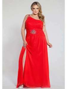 13 Hermosos vestidos de color para gorditas (10)