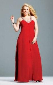 13 Hermosos vestidos de color para gorditas (5)