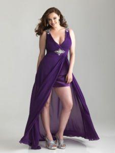Galería de imágenes con 13 vestidos para gorditas (10)