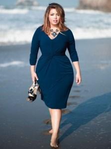 13 Hermosos vestidos con faja para gorditas (7)