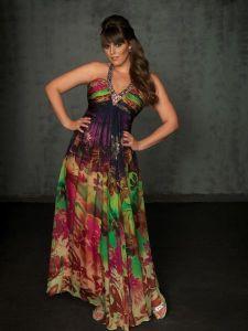 13 Hermosos vestidos de fiesta en talles XL (7)