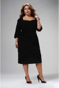 12 Vestidos de fiesta negros para mujeres gorditas (11)