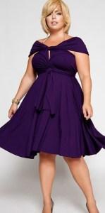 11 Bellos vestidos de fiesta para mujeres con panza (3)