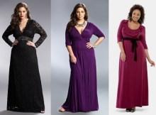 11 Vestidos de fiesta para gorditas de 50 años (11)
