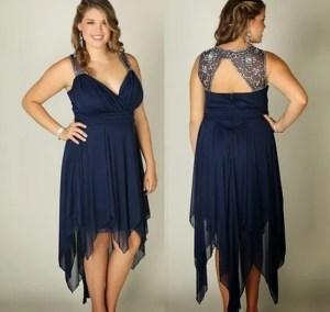 10 Hermosos vestidos de gala para gorditas bajitas (14)