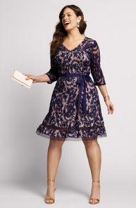 10 nuevos diseños de vestidos de fiesta para gorditas a media pierna (10)