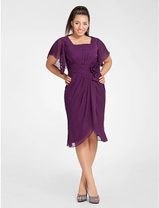 11 Modelos de vestidos de fiesta para mujeres gorditas y bajitas (10)