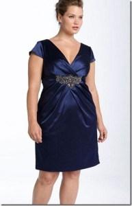 11 Modelos de vestidos de fiesta para mujeres gorditas y bajitas (3)