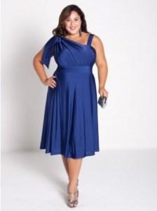 11 Modelos de vestidos de fiesta para mujeres gorditas y bajitas (9)