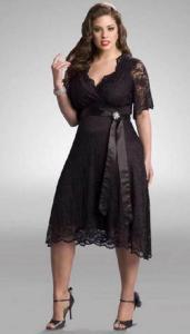 10 hermosos vestidos de fiesta para gorditas comprados en once (1)