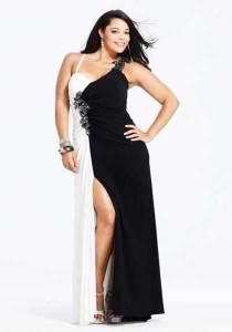 10 modelos de vestidos de fiesta para gorditas de graduación (3)