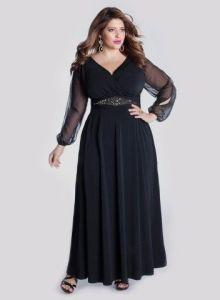 10 vestidos de fiesta para gorditas mayores (1)