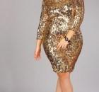 10 hermosos vestidos de fiesta brillantes para gorditas (10)