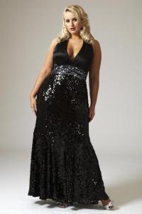 10 hermosos vestidos de fiesta brillantes para gorditas (6)