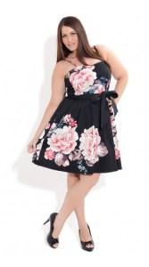 10 vestidos de fiesta para gorditas con flores (5)