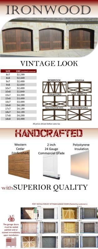 veteran garage door garage door  Aid 9x8 Garage Door 9 8 Garage Door Garage Door