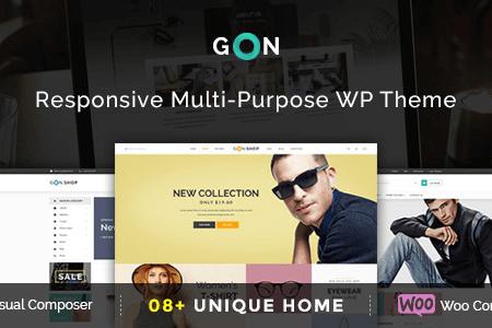 gon v1.0.0 responsive multi purpose wordpress theme 3