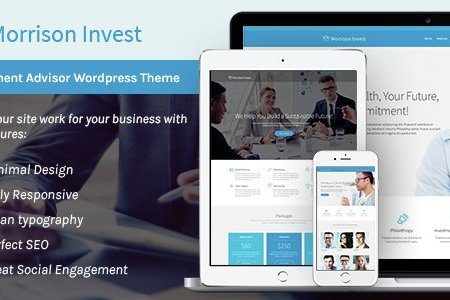 investments business financial advisor wp theme