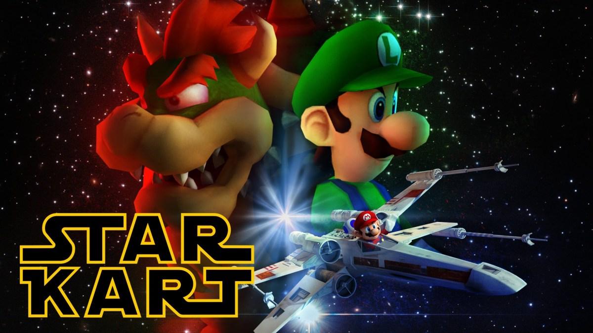 ¿Y si juntáramos Star Wars con Mario Kart?