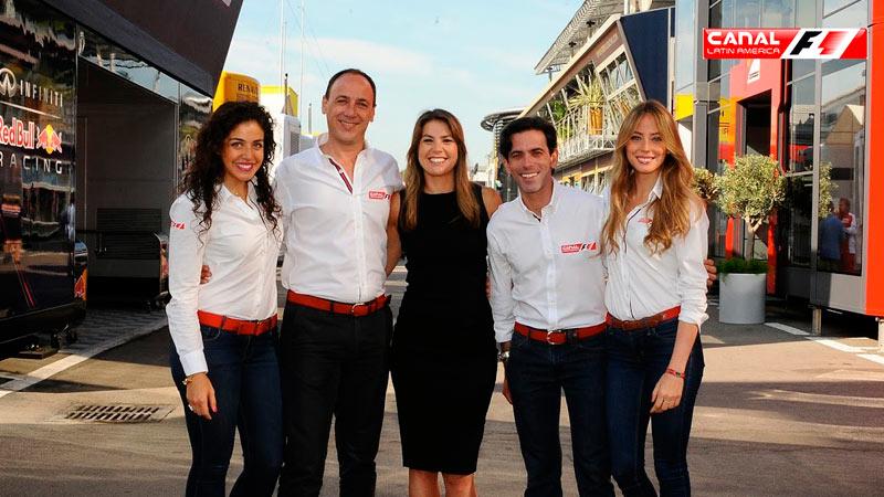 Los 21 Grandes Premios solo y en exclusiva por Canal F1 Latin America
