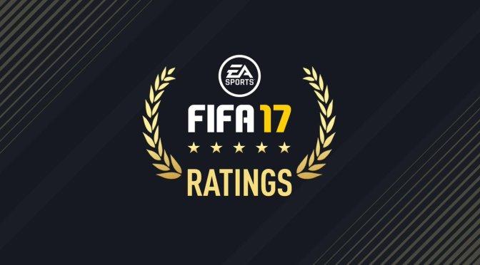 Se revelan los ratings de EA Sports FIFA 17