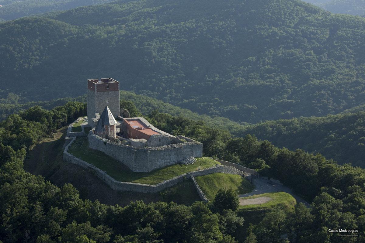 Medvedgrad Hırvatistan