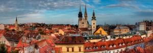 Zagreb-panorama Hırvatistan