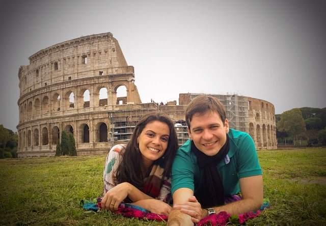 Viagem para a Itália, Inglaterra e Holanda_Coliseum_Viajando bem e barato