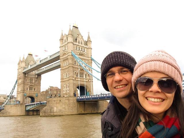 Viagem para a Itália, Inglaterra e Holanda_Tower Bridge_Viajando bem e barato