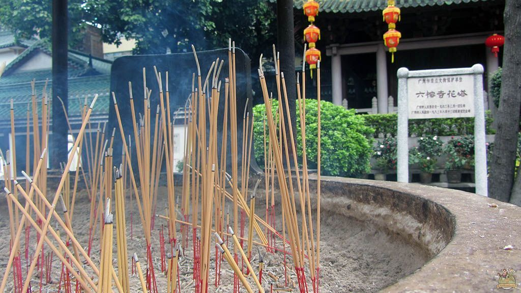 Guangzhou incienso